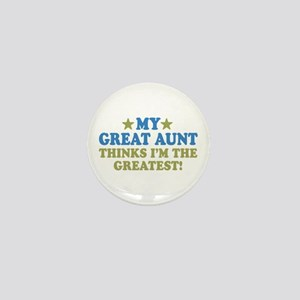 My Great Aunt Mini Button