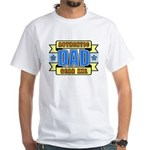 Authentic Dad Gear White T-Shirt