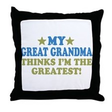 My Great Grandma Throw Pillow
