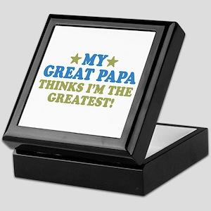 My Great Papa Keepsake Box