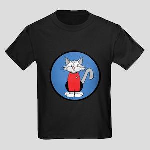 ST: Meow Trek3 Kids Dark T-Shirt