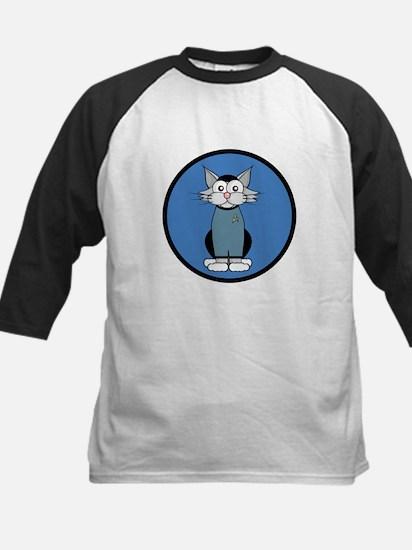 ST: Meow Trek2 Kids Baseball Jersey