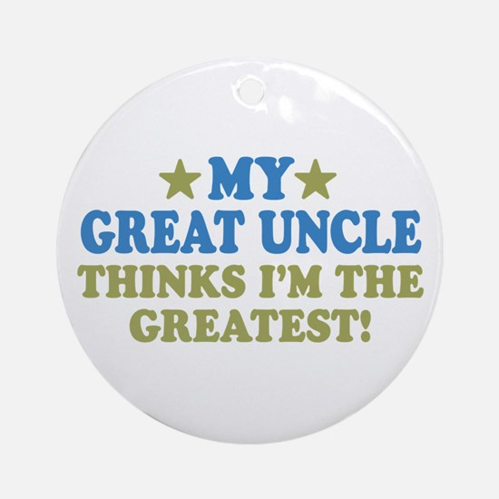My Great Uncle Ornament (Round)