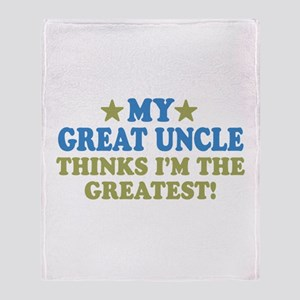 My Great Uncle Throw Blanket