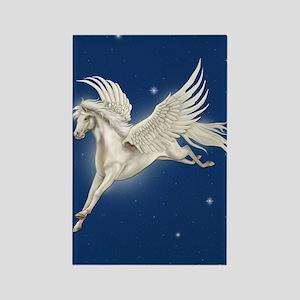 Pegasus In Flight Rectangle Magnet