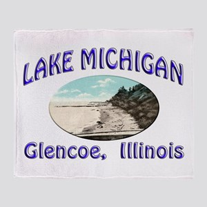 Lake Michigan Throw Blanket