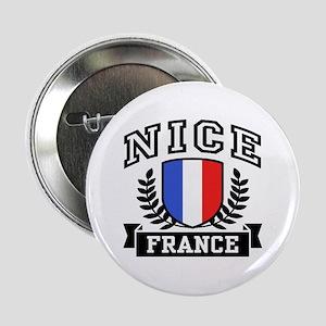 "Nice France 2.25"" Button"