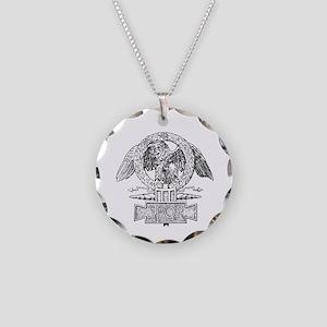 CANE SPQR Eagle Necklace Circle Charm