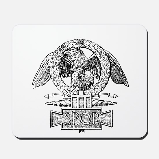 CANE SPQR Eagle Mousepad