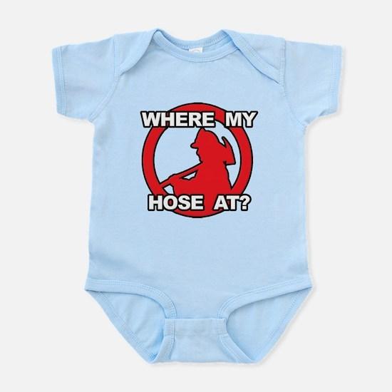 Where My Hose At? Infant Bodysuit