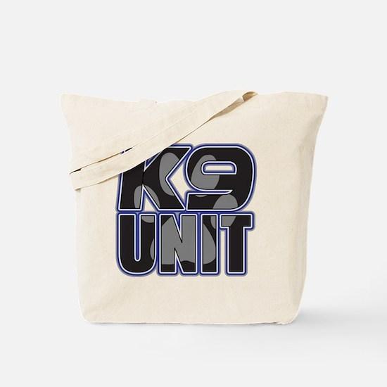 Police K9 Unit Paw Tote Bag
