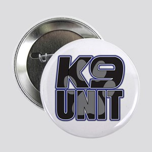 "Police K9 Unit Paw 2.25"" Button"