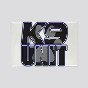 Police K9 Unit Paw Rectangle Magnet