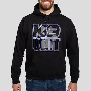 Police K9 Unit Paw Hoodie (dark)