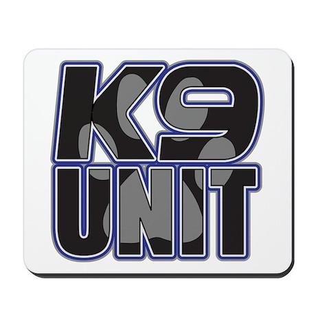Police K9 Unit Paw Mousepad