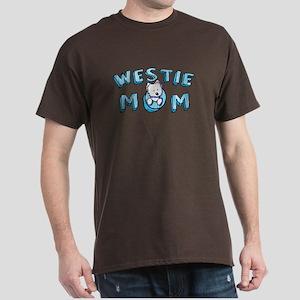 KiniArt Westie Mom Dark T-Shirt