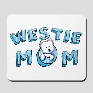 KiniArt Westie Mom Mousepad