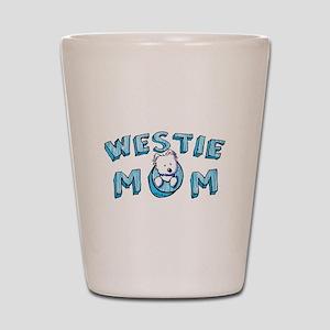 KiniArt Westie Mom Shot Glass