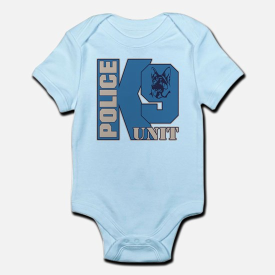 Police K9 Unit Dog Infant Bodysuit