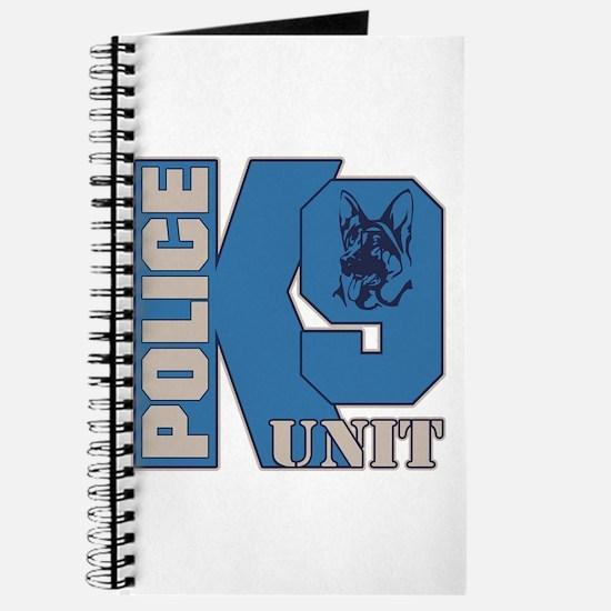 Police K9 Unit Dog Journal