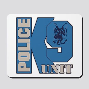 Police K9 Unit Dog Mousepad