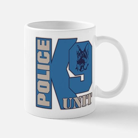 Police K9 Unit Dog Mug