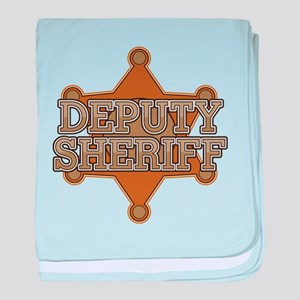 Deputy Sheriff baby blanket