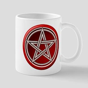 Red Pentacle Mug