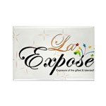 laExpose' Rectangle Magnet (100 pack)