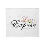 laExpose' Throw Blanket
