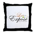 laExpose' Throw Pillow