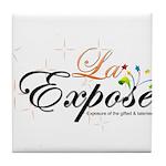 laExpose' Tile Coaster