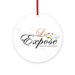 laExpose' Ornament (Round)