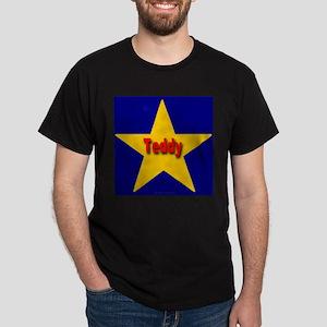 Teddy Star Monogram Black T-Shirt