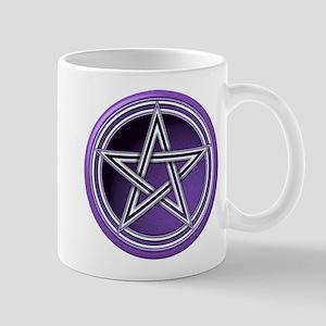 Purple Pentacle Mug