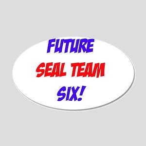 Future Seal Team Six! 22x14 Oval Wall Peel