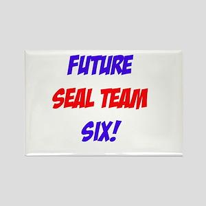 Future Seal Team Six! Rectangle Magnet