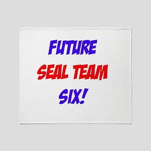 Future Seal Team Six! Throw Blanket