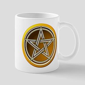 Yellow Pentacle Mug
