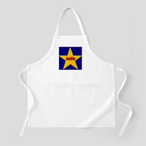 Jackie Star Monogram BBQ Apron