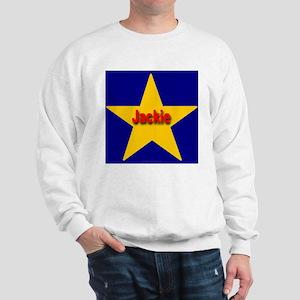 Jackie Star Monogram Sweatshirt