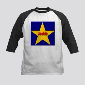Jackie Star Monogram Kids Baseball Jersey