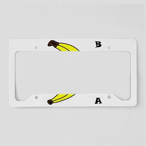 banana License Plate Holder