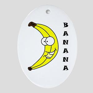 banana Keepsake (Oval)