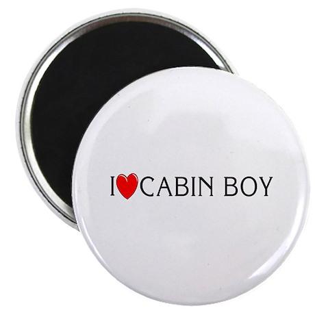 I Love Cabin Boy Magnet