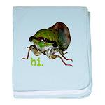 Cicada hi. baby blanket