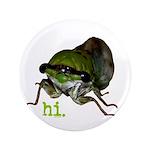 "Cicada hi. 3.5"" Button (100 pack)"