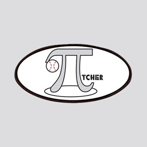 Funny Baseball Pi-tcher Patches