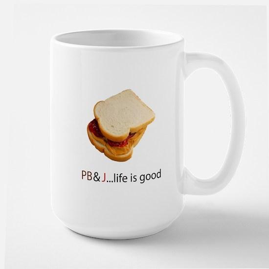 PB & J Large Mug