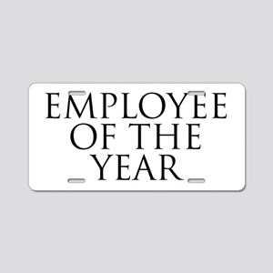 Employee Of The Year Aluminum License Plate